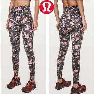 "♎LULULEMON Fast & Free Nulux 28""Frosted Rose Multi"